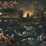 European art; part 1 - Agostino Tassi The Siege of a City 16727 203