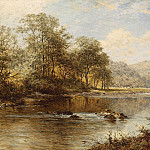 European art; part 1 - Benjamin Williams Leader On the Llugwy North wales 40248 20