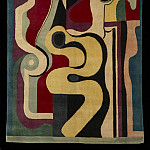 European art; part 1 - Auguste HERBIN Rug nВ° 66