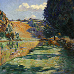 European art; part 1 - Armand GUILLAUMIN La Roche de lEcho