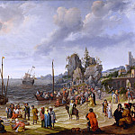 European art; part 1 - ADAM WILLAERTS Miracle on the beach of Gennesaret 90215 184