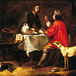 European art; part 1 - Anton Maria Vassallo Esau Renouncing His Birthright 16691 203