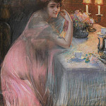 European art; part 1 - Delphin Enjolras After Dinner