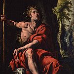 European art; part 1 - Antonio dEnrico called Tanzio da Varallo Saint John the Baptist in the Desert 16923 203