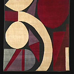 European art; part 1 - Auguste HERBIN Rug nВ° 65