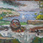 European art; part 1 - Albert ANDRE Nature morte devant la mer 40078 3449