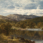 European art; part 1 - Benjamin Williams Leader On the Llugwy below Capel Curig 99359 20