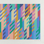 European art; part 1 - Bridget Riley July 14 London 105919 20