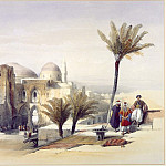 European art; part 1 - David Roberts - Church of the Holy Sepulchre Exterior View