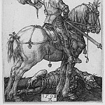 European art; part 1 - Albrecht DГјrer Saint George on Horseback 29967 1124
