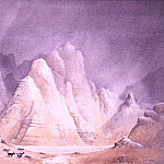 European art; part 1 - David Bellamy Wadi al Khishkhasheh Wadi Rum 31868 3606