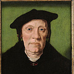 European art; part 1 - Jan van Scorel - Unknown Gentleman [attr.]