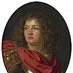 "European art; part 1 - ARY DE VOIS ""Portrait of a Gentleman Wearing Classical Armor"" 34851 316"