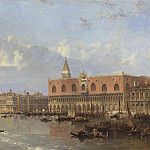 European art; part 1 - David Roberts View of the Doges Palace and the Piazzetta Venice with Santa Maria della 99899 20