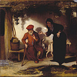European art; part 1 - Barent Fabritius Tobit and Anna 27349 276
