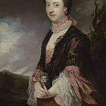 часть 5 -- European art Европейская живопись - Sir Joshua Reynolds Portrait of Mary Powis Countess of Courtown 99859 20