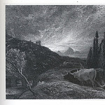 часть 5 -- European art Европейская живопись - Samuel Palmer The Early Ploughman 9516 1124