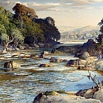 часть 5 -- European art Европейская живопись - Samuel John Lamorna Birch RA The Rock Girt Pools of Spean 12135 2426
