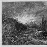часть 5 -- European art Европейская живопись - Samuel Palmer The Early Ploughman 8786 1124