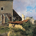 часть 5 -- European art Европейская живопись - Vilhelm Petersen Farmhouse in Tyrol 11445 172