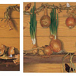 часть 5 -- European art Европейская живопись - Triptych with Onions and Butterflies 11464 172