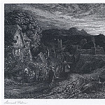 часть 5 -- European art Европейская живопись - Samuel Palmer The Bellman 9519 1124