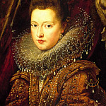 "SIR PETER PAUL RUBENS ""Portrait of Princess Margherita Gonzaga"" 33381 316, Peter Paul Rubens"