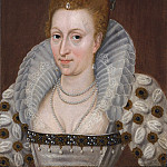 часть 5 -- European art Европейская живопись - Studio of John de Critz Anne of Denmark Queen consort of James I of England 71859 321