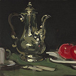 часть 5 -- European art Европейская живопись - Samuel John Peploe Still life with silver coffee pot 112519 20