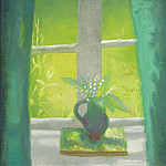 часть 5 -- European art Европейская живопись - Winifred Nicholson Lily of the Valley South Parlour 99659 20