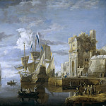 Peeters, Jan -- Un puerto de mar, Part 6 Prado Museum