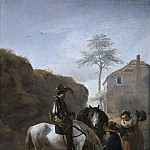 Wouwerman, Philips -- Un montero, Part 6 Prado Museum