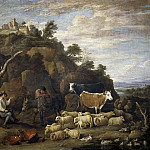Part 6 Prado Museum - Teniers, David -- Coloquio pastoril
