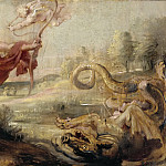 Apolo y la serpiente Pitón, Peter Paul Rubens
