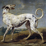 Part 6 Prado Museum - Vos, Paul de -- Un galgo blanco