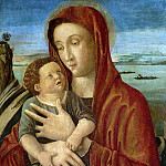 Bellini, Giovanni -- Madonna met kind, 1465-1470, Rijksmuseum: part 4