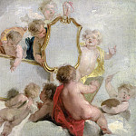Rijksmuseum: part 4 - Wit, Jacob de -- Putti met spiegels, 1725-1744