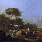 Rijksmuseum: part 4 - Klomp, Albert Jansz. -- Landschap met vee, 1640-1688