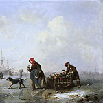 Hildebrandt, Theodor -- De Newa bij Sint Petersburg in de winter, 1844, Rijksmuseum: part 4