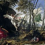 Cozza, Francesco -- Hagar en Ismaël in de woestijn, 1665, Rijksmuseum: part 4