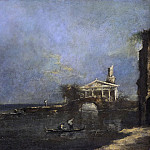 Guardi, Francesco -- Lagune bij Venetië, 1740-1800, Rijksmuseum: part 4