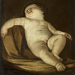 Slapende putto, 1627-1700, Guido Reni