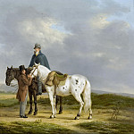 Oberman, Anthony -- Twee ruiters in een landschap, 1817, Rijksmuseum: part 4
