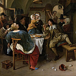 Familietafereel, 1660-1679, Jan Havicksz Steen