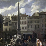 Markttafereel in Rome, 1650-1680, Michael Sweerts