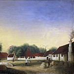 Rijksmuseum: part 4 - Hesselaar, H.Th. -- Suikerfabriek (?) op Java, 1849