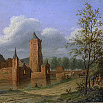 Teyler van Hall, Jan Jacob -- Slot Batestein bij Vianen, 1840, Rijksmuseum: part 4
