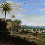 Post, Frans Jansz. -- Braziliaans dorp, 1644-1680, Rijksmuseum: part 4