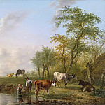 Kobell, Jan -- Landschap met vee, 1804, Rijksmuseum: part 4
