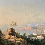 часть 2 -- European art Европейская живопись - GIANNI Girolamo 1837 1895 Italian School View of the bay of Naples 41044 121